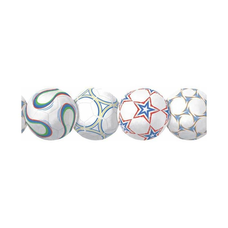 BS5320BD New Soccerball Border by York Wallcoverin