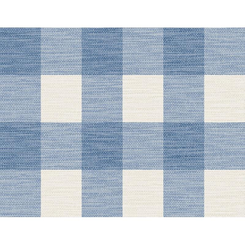 LN10802 Luxe Retreat, Rugby Gingham Blue by Lillia