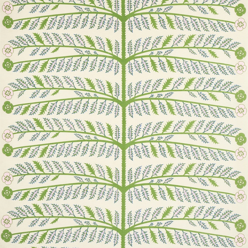 179530 Thistle, Ivory By Schumacher Fabric