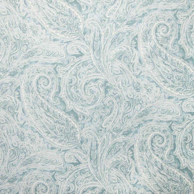 B9319 Robins Egg, Blue Paisley Multipurpose by Gre