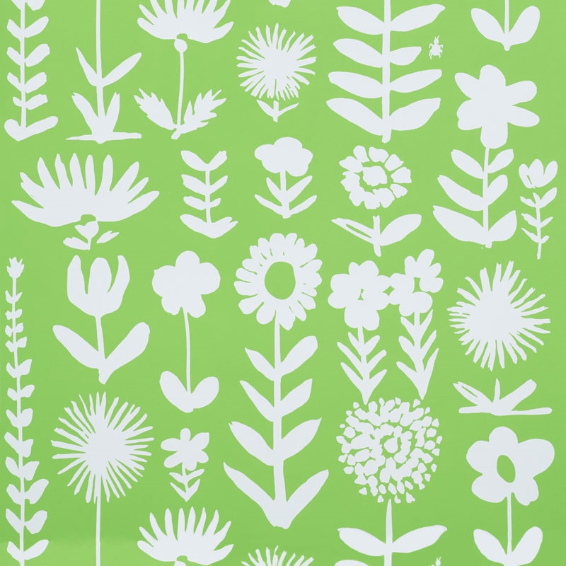 5009811 Wild Things, Leaf by Schumacher Wallpaper