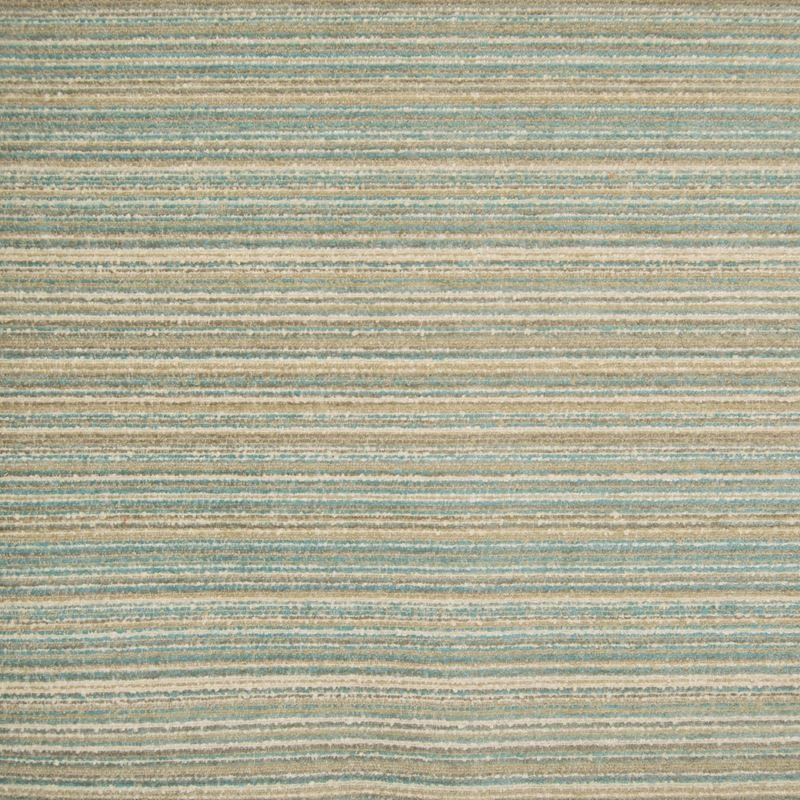 F1471 Pool, Teal Stripe Upholstery Fabric by Green