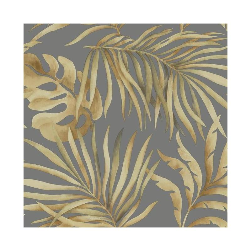 SO2453 Tranquil, Paradise Palm color Charcoal, Flo