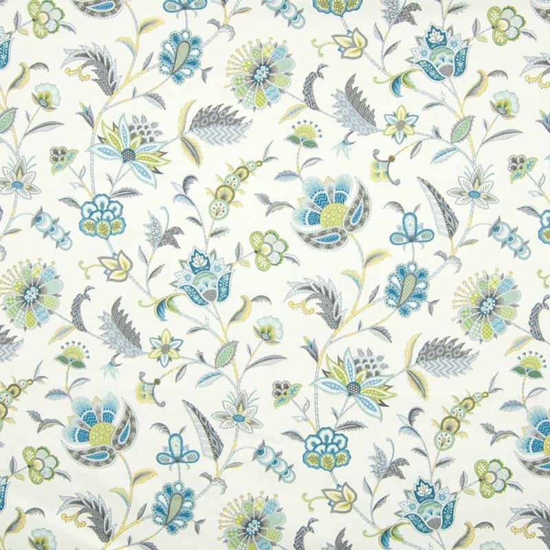 B8292 Peacock, Blue Floral Multipurpose by Greenho