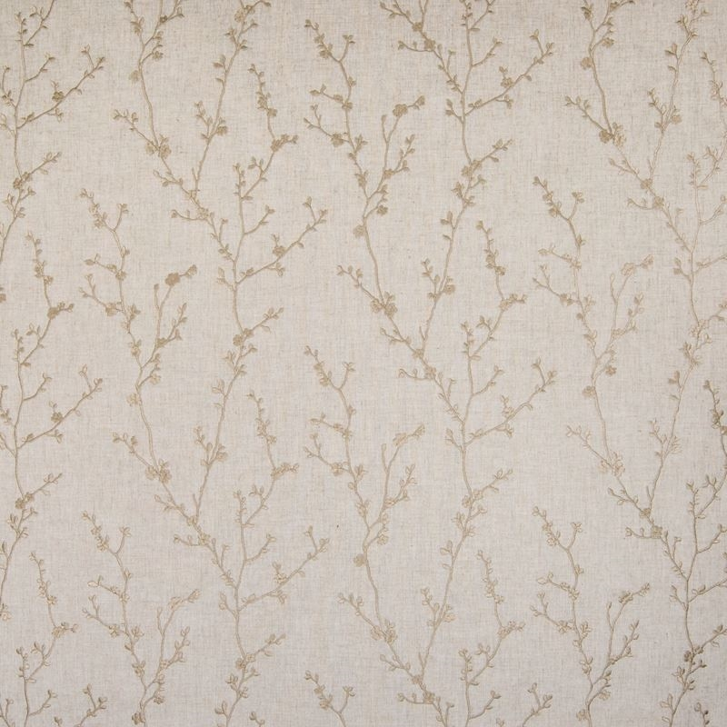 B4784 Papyrus, Neutral Floral Drapery by Greenhous