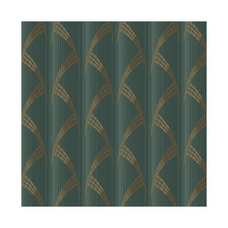 CA1582 Deco, Metropolis, Greens Stripes Antonina V