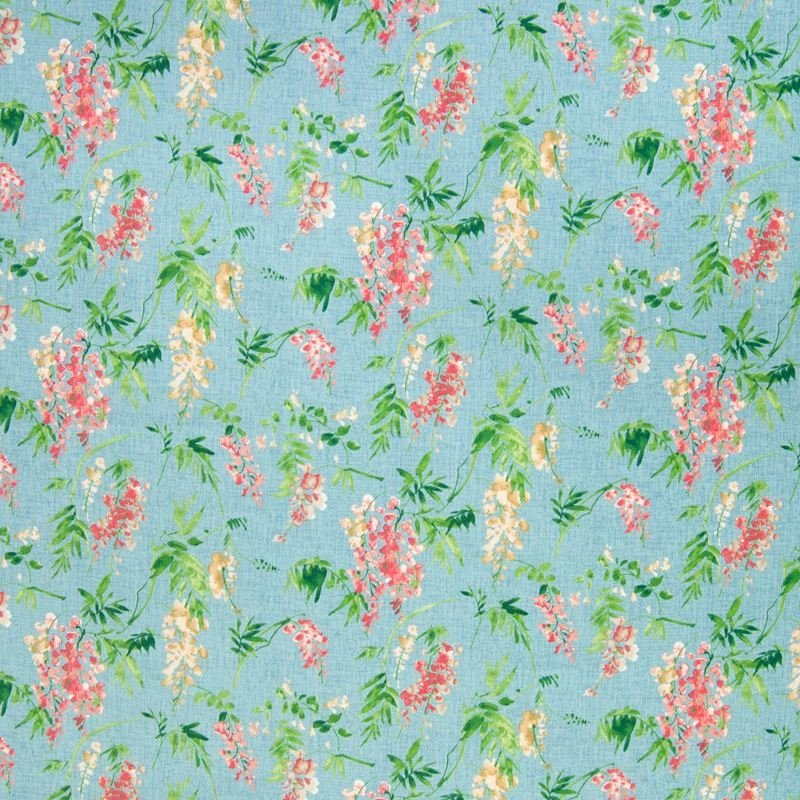 B6592 Cerulean, Pink Floral Multipurpose by Greenh