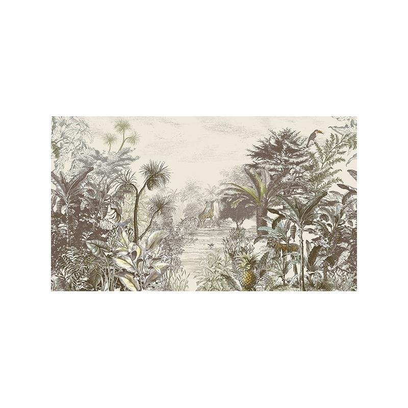 300610 Skin, Into the Wild Natural Wall Mural by E